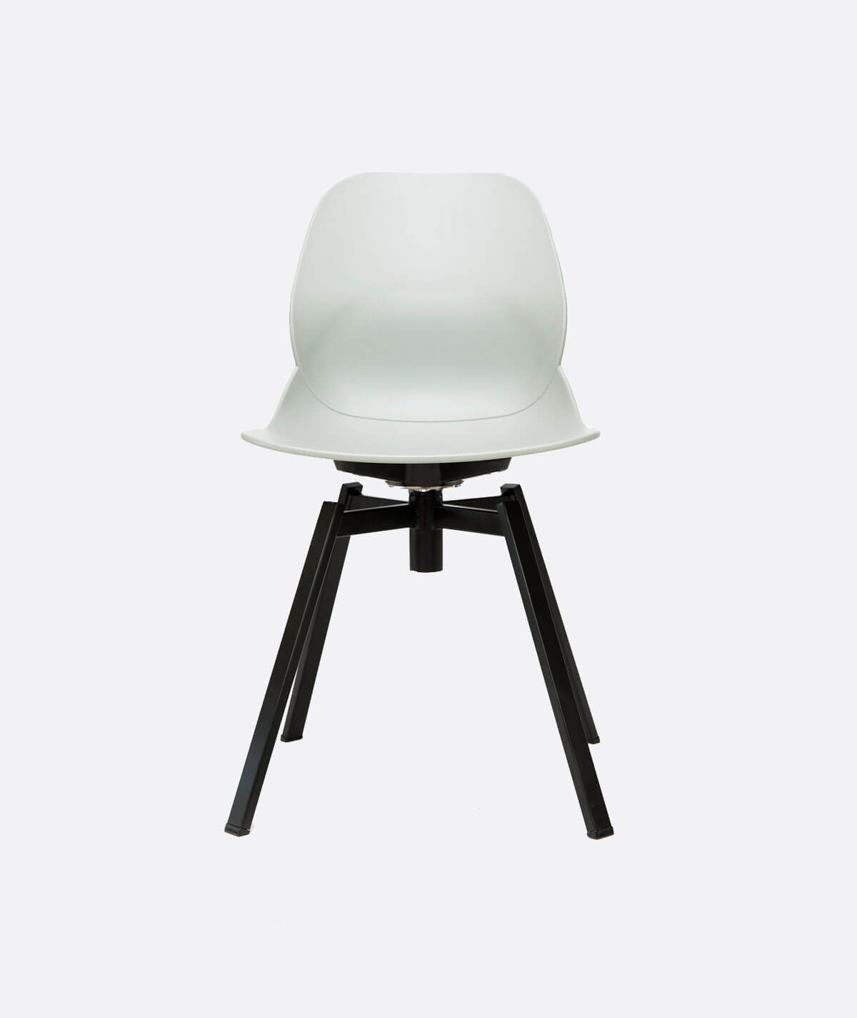 Cool Luna Swivel Dining Chair Grey Ncnpc Chair Design For Home Ncnpcorg